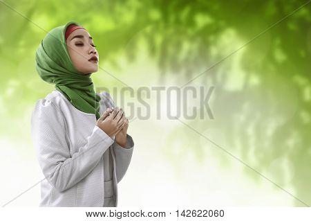 Young Asian Muslim Woman