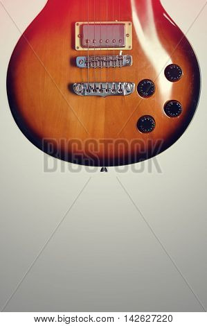 Beautiful Guitar from the 70's lower half of body