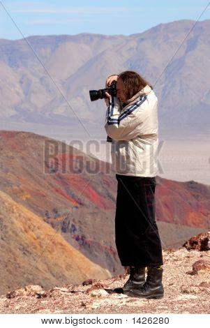 Photographer Death Valley