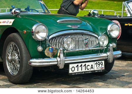 Green Austin Healey 3000 Mk Ii (1962)