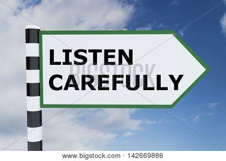 Listen Carefully Concept