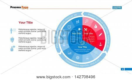 Pie diagram. Business data. Element of complex pie chart, presentation, diagram. Concept for infographics, business templates, reports. Can be used for topics like analysis, progress, economics