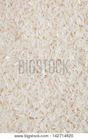 White Long Rice Natural White Long Rice Grains Background