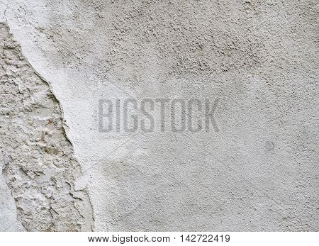 Abstract old grunge scratched concrete wall texture for background