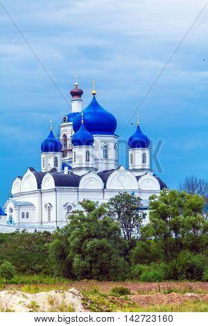 Holy Bogolyubovo Monastery With Cathedral Of The Bogolyubskaya Icon (1866)