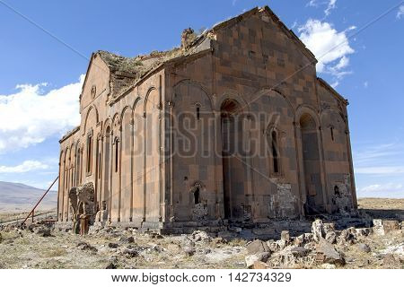 Ani Ruins of ancient city in Turkey.
