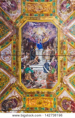 Nostra Signora Della Consolazione E San Vincenzo Church. Genova, Italy.