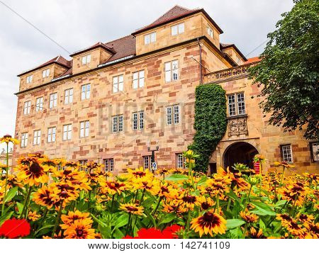 Altes Schloss (old Castle), Stuttgart Hdr