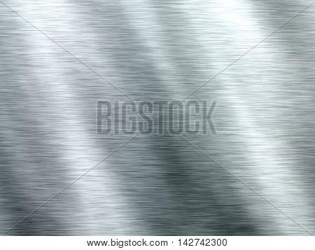 Light metal plate with diagonal shadows.