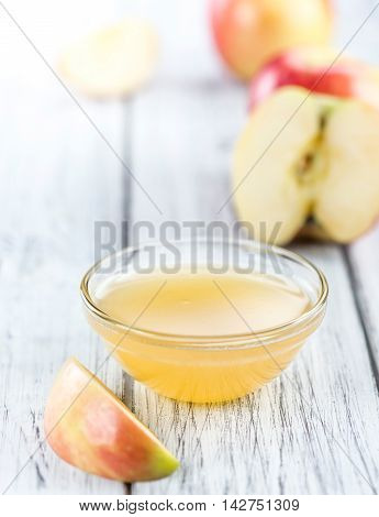 Portion Of Applesauce (selective Focus)