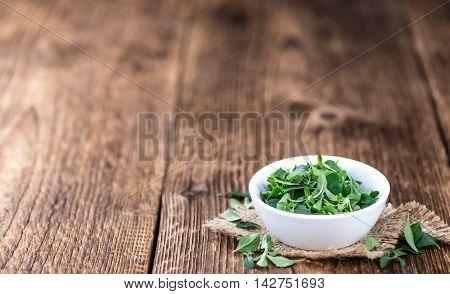 Fresh Menthol Leaves (selective Focus)