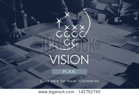 Vision Ideas Inspiration Direction Dreams Goals Concept