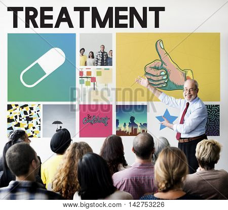 Pills Drugs Medication Cure Treatment Healthcare Concept