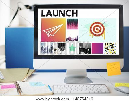 Goals Target Startup Launch Success Brand Concept