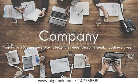 Company Business Collaboration Corporate Team Concept
