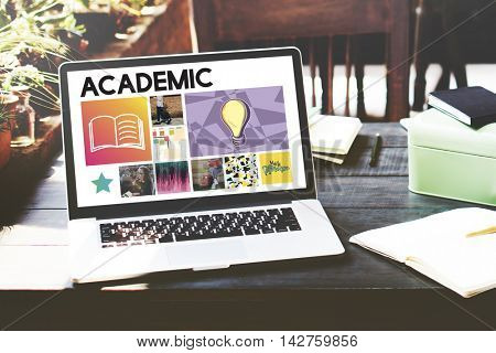 Academic Education Learning Wisdom Graphic Concept