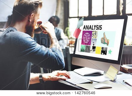 Analysis Analyze Data Information Insight Report Concept