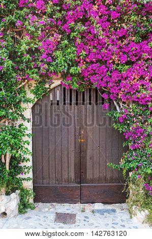 In Saint-paul-de-vence, Provence, France