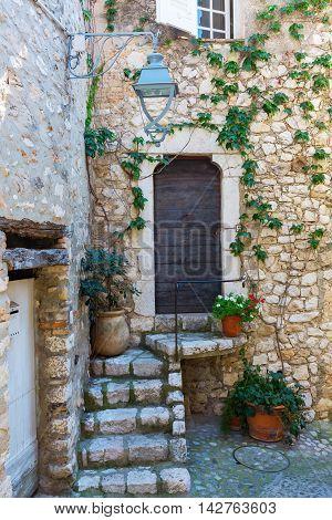 Old House In Saint-paul-de-vence, Provence, France