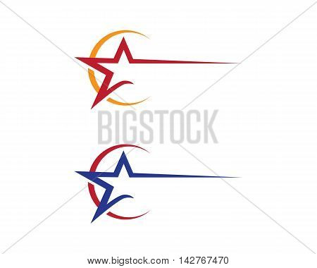 Star Logo Template vector icon design logo