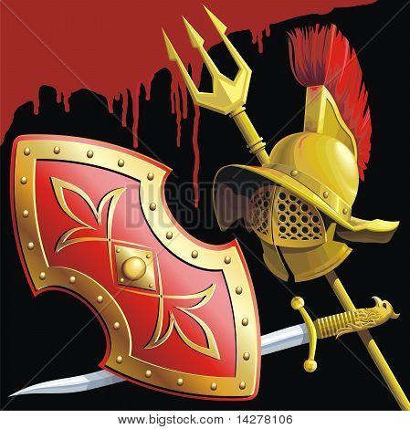 Gladiator's armament