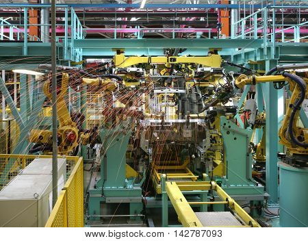 Car Assembly Plant