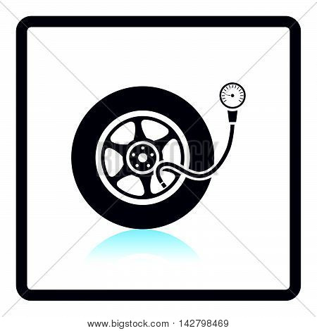 Tire Pressure Gage Icon