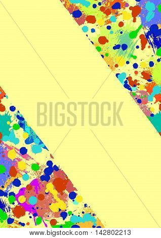 Vector Graphic Grunge Background