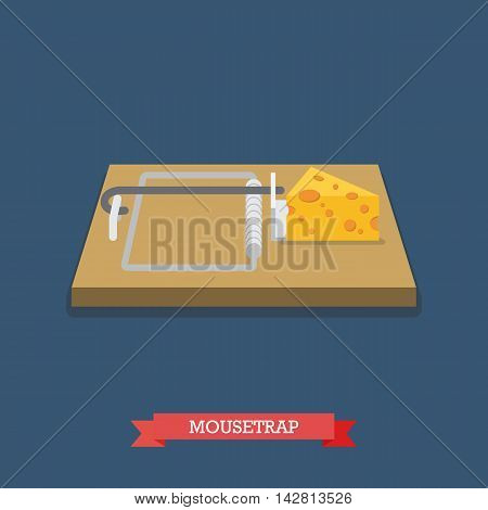 Wallet flat icon. Flat style vector illustration