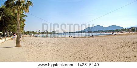 Alcudia Beach Panorama, Majorca