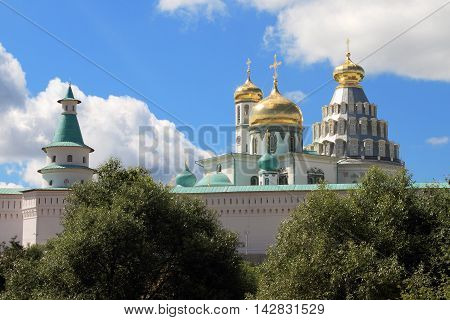 Russia. Istra. The Voskresensky new Jerusalem monastery.