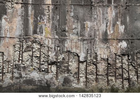 Concrete And Steel Texture