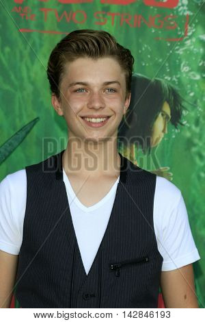 LOS ANGELES - AUG 14:  Jacob Hopkins at the