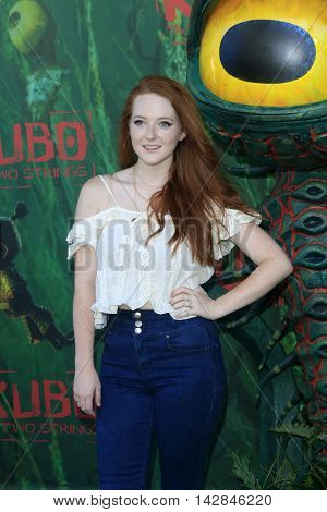 LOS ANGELES - AUG 14:  Kaitlyn Mackenzie at the