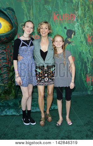 LOS ANGELES - AUG 14:  Rory Jackson, Melora Hardin, Piper Jackson at the