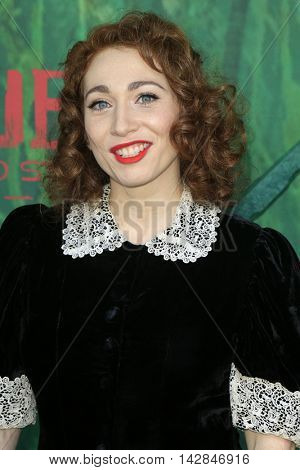 LOS ANGELES - AUG 14:  Regina Spektor at the
