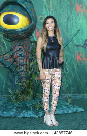 LOS ANGELES - AUG 14: Kara Royster at the premiere of Focus Features' 'Kubo and the Two Strings' at AMC Universal City Walk on August 14, 2016 in Los Angeles, California