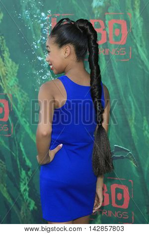 LOS ANGELES - AUG 14: Kyla Drew Simmons at the premiere of Focus Features' 'Kubo and the Two Strings' at AMC Universal City Walk on August 14, 2016 in Los Angeles, California