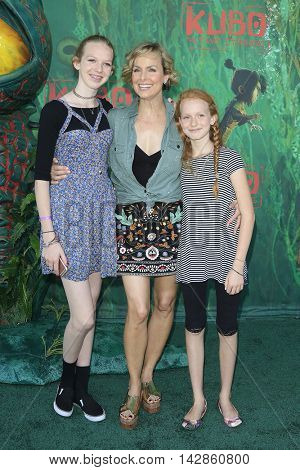 LOS ANGELES - AUG 14: Rory Jackson, Melora Hardin, Piper Jackson at the premiere of Focus Features' 'Kubo and the Two Strings' at AMC Universal City Walk on August 14, 2016 in Los Angeles, California