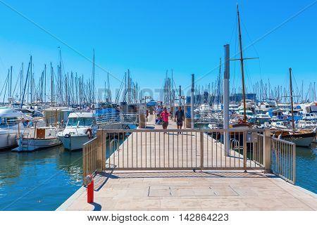 Harbor Of Cannes, Cote Dazur, France