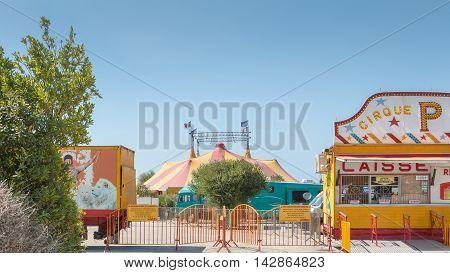 The Circus Tent Pinder