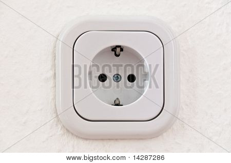 White Power Outlet With Path