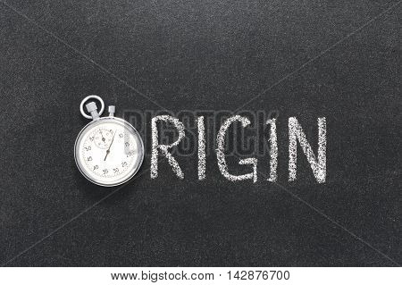 Origin Word Watch