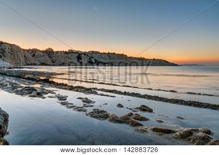 Sunrise at the Scala dei Turchi in Sicily