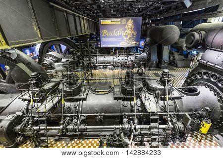 Inside The Machine Hall For Heating At Volklingen Ironworks