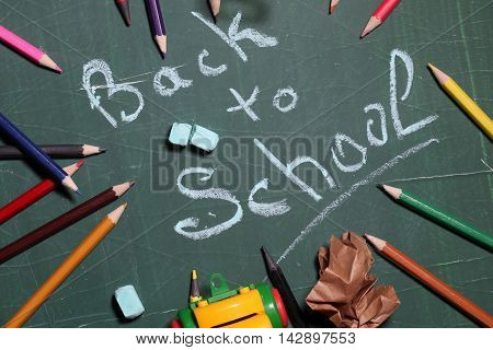 Back To School Word Text