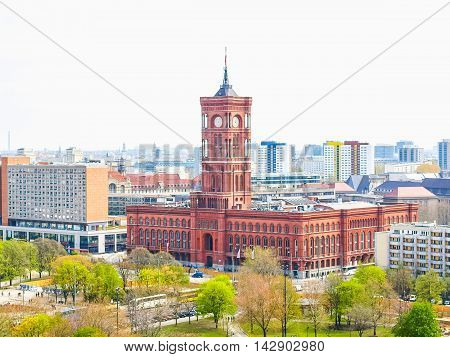 Rotes Rathaus, Berlin Hdr