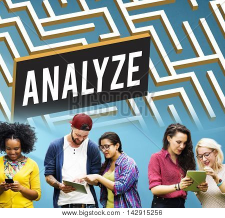 Challenge Analyze Complicated Maze Concept