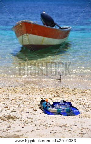 Lazy afternoon after island hoping in Perhentian, Malaysia