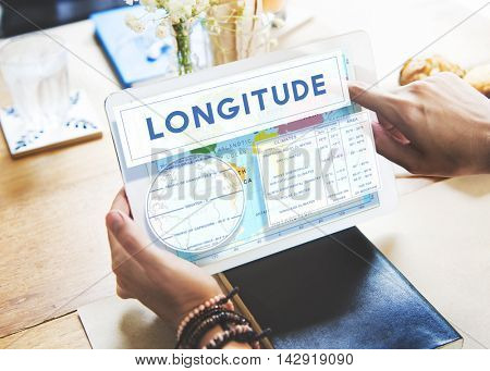 Longitude Latitude World Cartography Concept